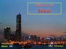 diaporama pps Villes de nuit – Séoul