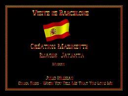 diaporama pps Visite de Barcelone