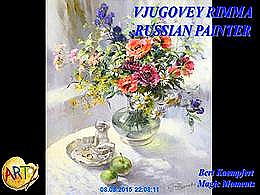 diaporama pps Vjugovey Rimma – Russian painter