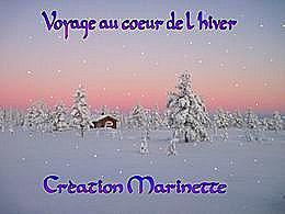 diaporama pps Voyage au coeur de l'hiver