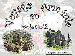 diaporama pps Voyage en Arménie volet 2