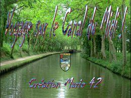 diaporama pps Voyage sur le Canal du midi