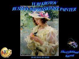 diaporama pps Yuri Krotov – Russian impressionist painter