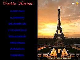 diaporama pps Yvette Horner I