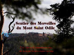 diaporama pps Sentier des merveilles – Mont Saint-Odile