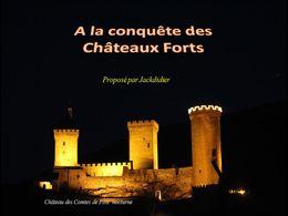diaporama pps A la conquête des châteaux forts