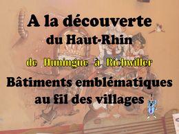 diaporama pps Haut-Rhin de Huningue à Richwiller