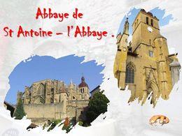 diaporama pps Abbaye de Saint-Antoine-l'Abbaye