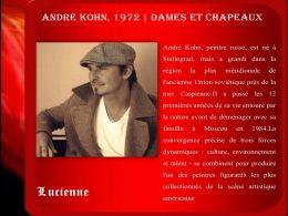 diaporama pps André Kohn 1972 – Dames et chapeaux