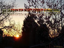 diaporama pps Au jardin fin Mars début Avril
