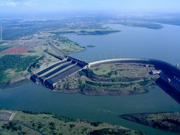 diaporama pps Barrage d'Itaipu – Brésil