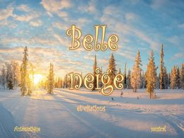 diaporama pps Belle neige