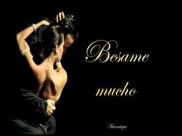 diaporama pps Besame mucho