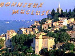 diaporama pps Bonnieux Vaucluse