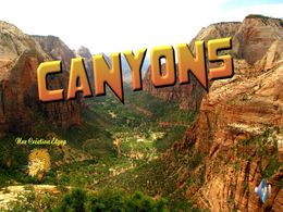 diaporama pps Canyons