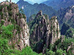 diaporama pps Chine parc national de Huangshan