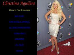 diaporama pps Christina Aguilera