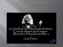 diaporama pps Citations et réflexions