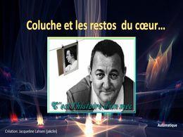 diaporama pps Coluche et les restos du cœur 1986
