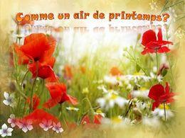 diaporama pps Comme un air de printemps