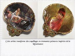 diaporama pps Coquillages et peintures