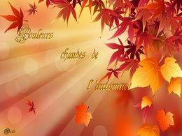 diaporama pps Couleurs chaudes de l'automne