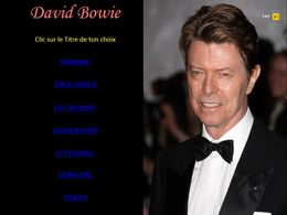 diaporama pps David Bowie