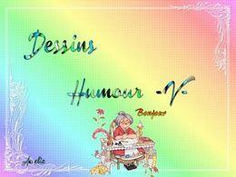 diaporama pps Dessins humour V