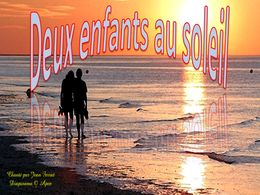 diaporama pps Deux enfants au soleil