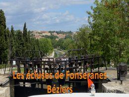 diaporama pps Écluses de Fonseranes – Béziers