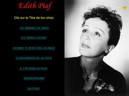 diaporama pps Édith Piaf – VIIII