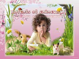 diaporama pps Enfants et animaux 2