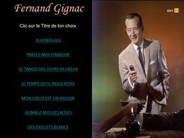 diaporama pps Fernand Gignac I