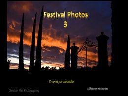 diaporama pps Festival photos 3 – Christian Man