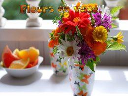 diaporama pps Fleurs en vase