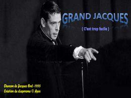 diaporama pps Grand Jacques – C'est trop facile