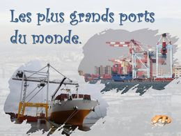 diaporama pps Grands ports du monde