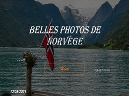 diaporama pps Belles photos de Norvège