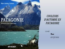 diaporama pps Couleurs d'automne en Patagonie
