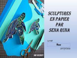 diaporama pps Sculptures en papier – Sena Runa