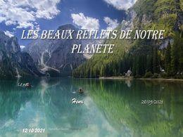 diaporama pps Les beaux reflets de notre planète