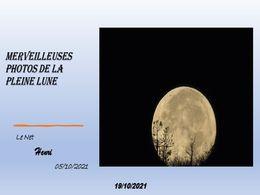 diaporama pps Merveilleuses photos de la pleine lune
