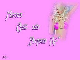 diaporama pps Humour chez les blondes IV