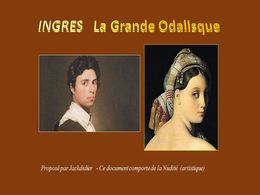 diaporama pps Ingres – La grande odalisque