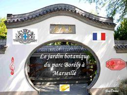 diaporama pps Jardin botanique du parc Borely – Marseille