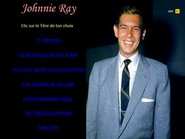 diaporama pps Johnnie Ray