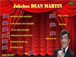 diaporama pps Jukebox – Dean Martin