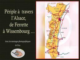 diaporama pps L'Alsace du sud au nord