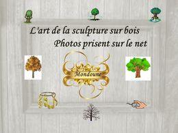 diaporama pps L'art de la sculpture sur bois