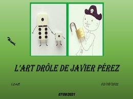 diaporama pps L'art drôle de Javier Pérez